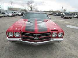 Here's a 1970 Chevrolet Chevelle.