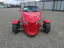 Need a new ride? Check out 29 cool cars up for grabs at Saturday's U.S. Marshals auction. Up first is a 1999 Plymouth Prowler.