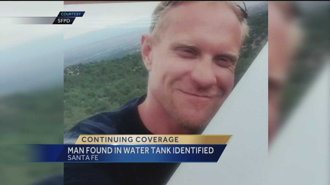Man found in water tank identified
