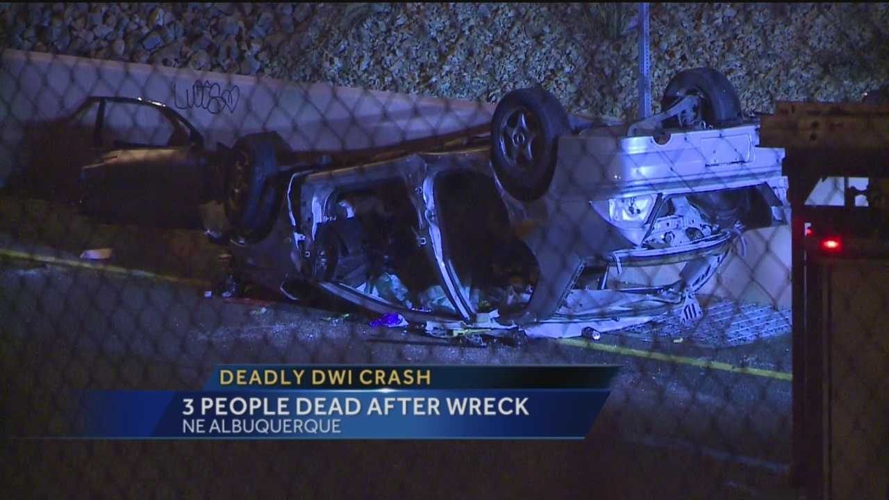 3 People Dead After Wreck