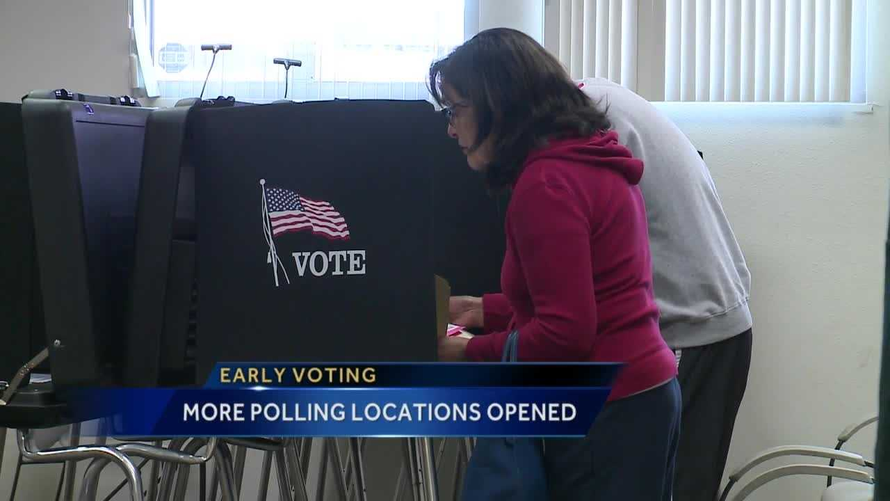 More Polling Locations Opened