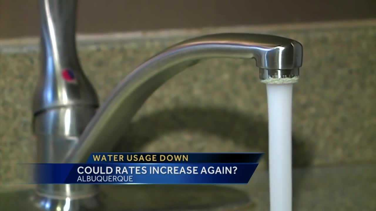 Water usage in BernCo hits all-time low