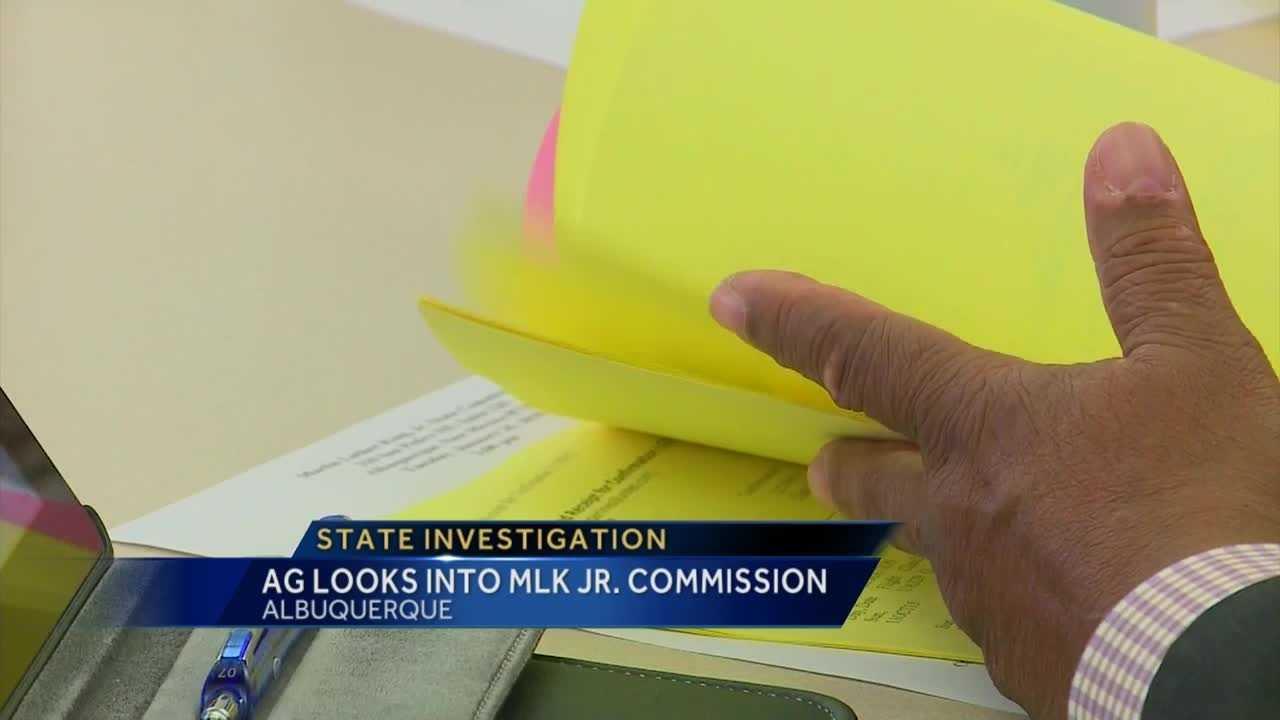 AG looks into MLK Jr. Commission