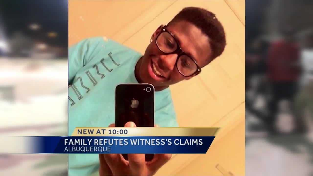 A witness to the Los Altos Skate Park shooting says the 17-year-old shot and killed that night fired first and someone killed him in self-defense.