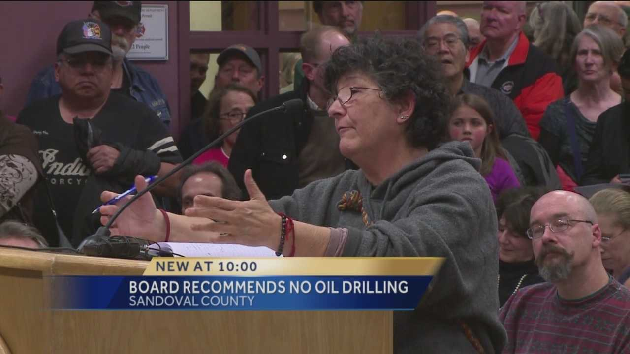 Board recommends county deny oil exploration permits