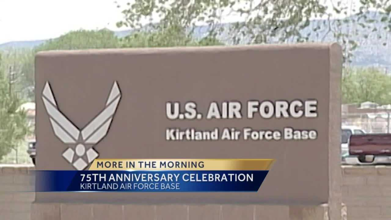 Today kirtland air force base is kicking-off its 75th anniversary as a cornerstone of the albuquerque community.