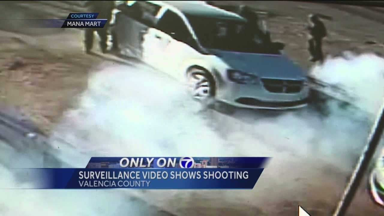 Surveillance video sheds new light on Los Lunas shooting