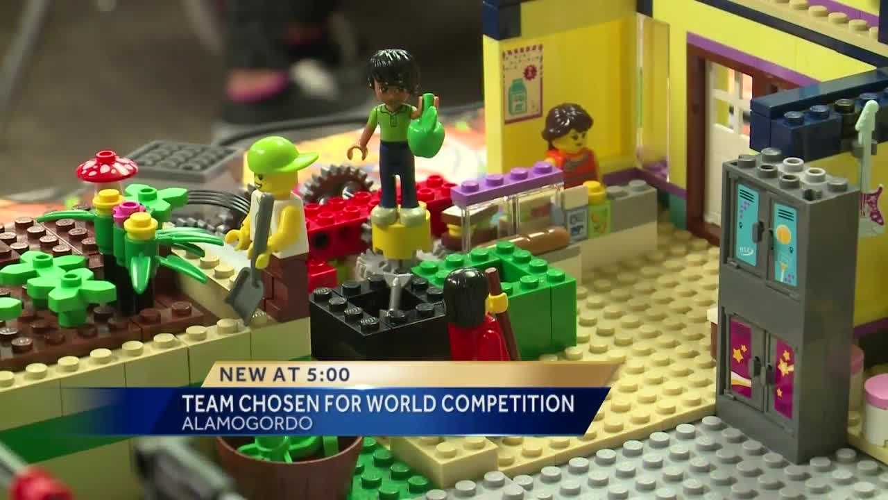 6 New Mexicans headed for Lego world competition
