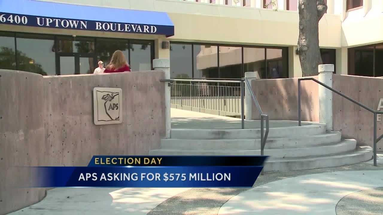 APS is asking for $575 million in Tuesday's bond election.