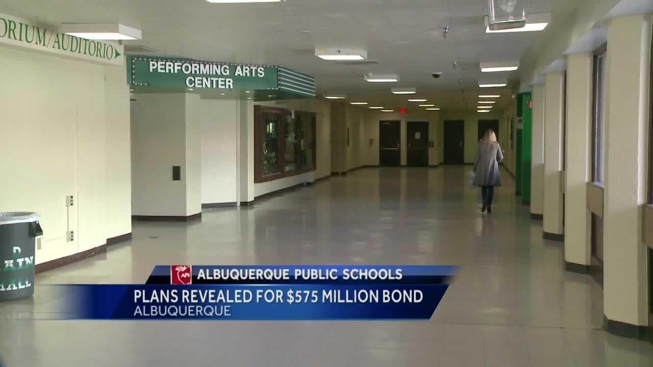 Plans Revealed for $575 Million Bond
