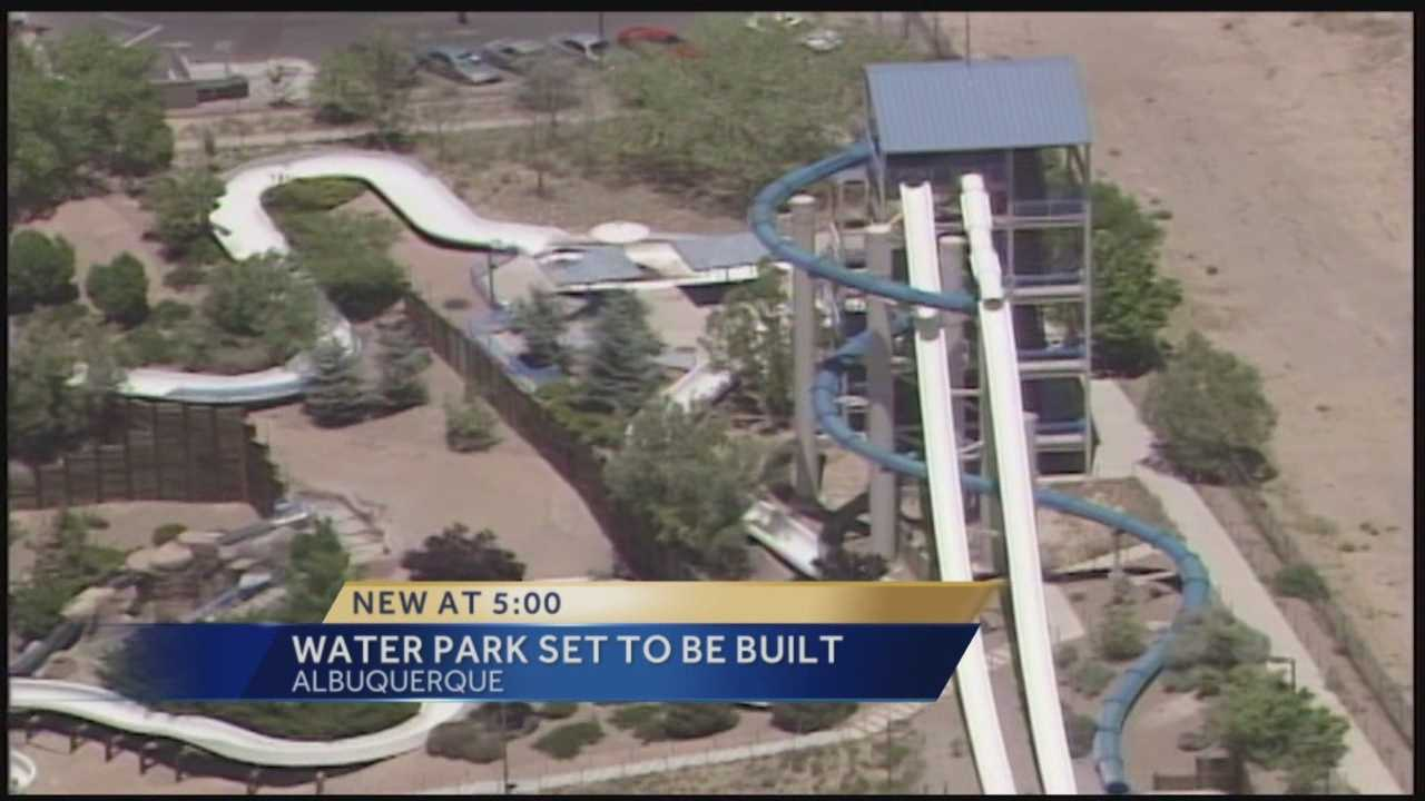 Company eyes 2017 opening for NM water park
