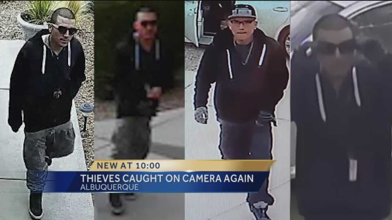 Thieves caught on camera once more