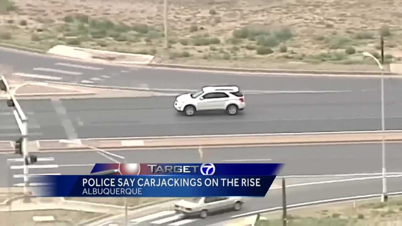 Police say Carjackings on the Rise