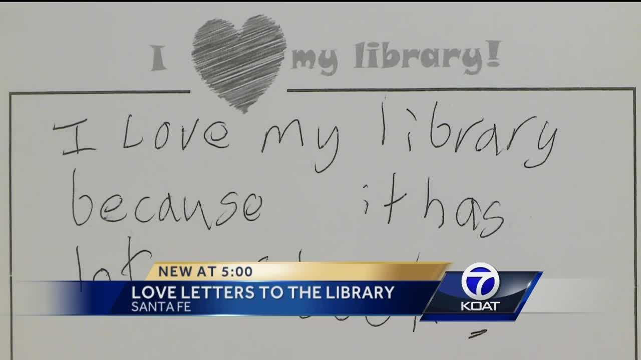 Library feels the love during letter campaign