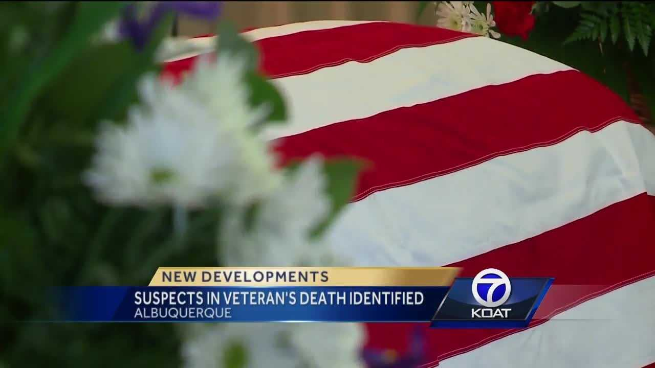 Suspects in veteran's death identified
