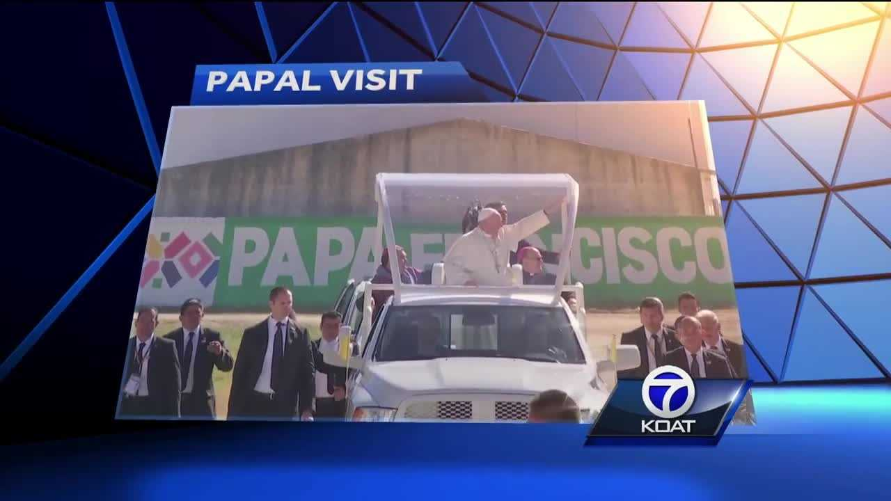 On Wednesday, Pope Francis will say Mass over the border in Juarez. Many will head to the Mexico side to see him, while others will stay in El Paso to attend church at the Sun Bowl, watching the pope on the big screen.