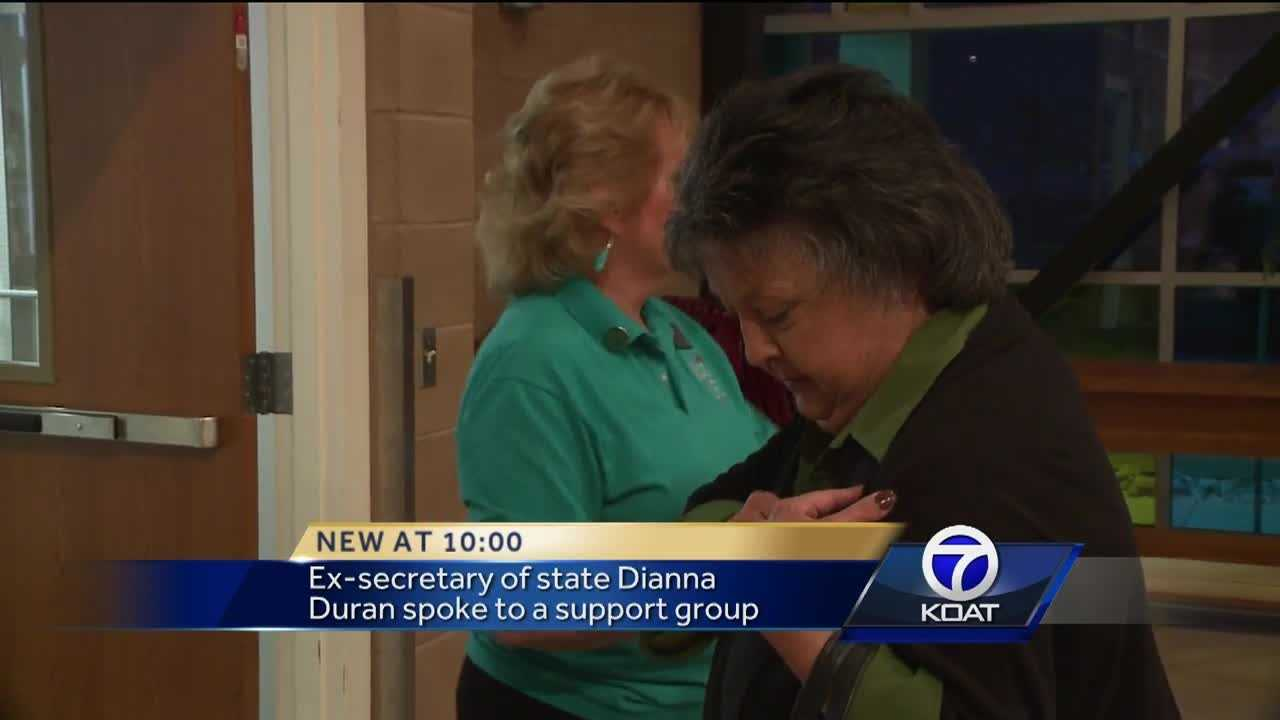 On Monday, everyone at the Albuquerque Wings for Life support group meeting was talking about Dianna Duran.
