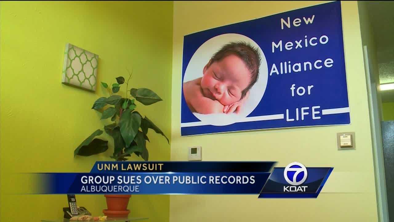 UNM lawsuit: Group sues over public records