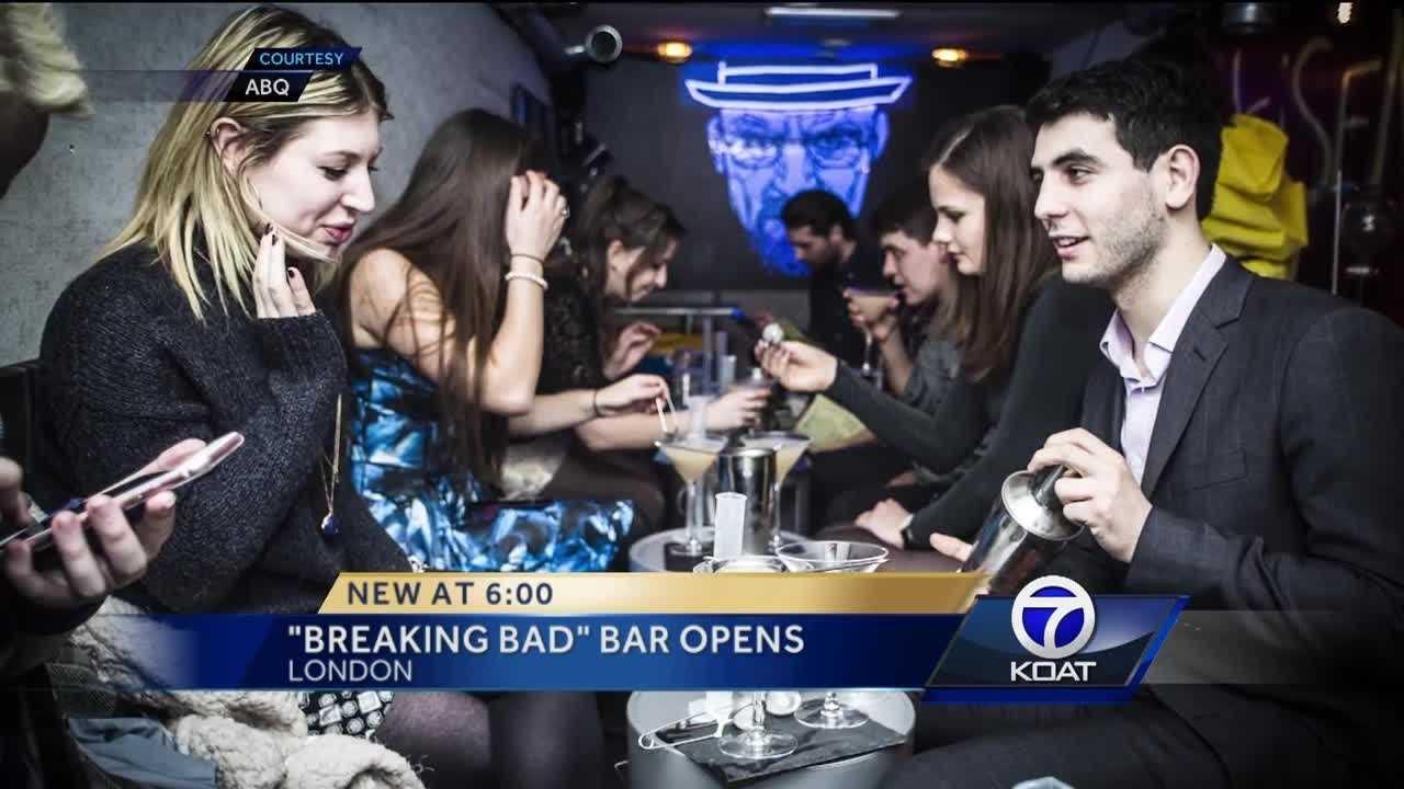 'Breaking Bad' bar opens in London