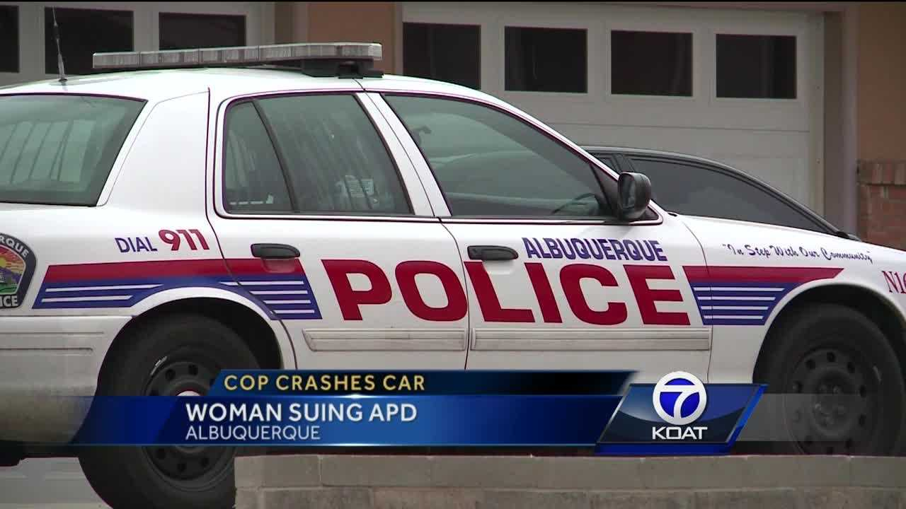 Woman sues APD