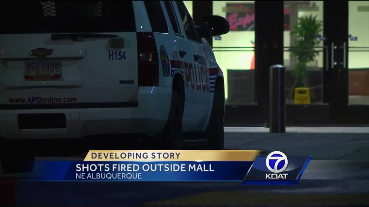 Four teens detained after apparent mall shooting