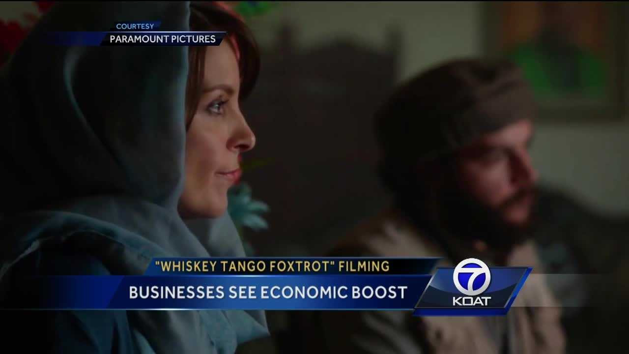 'Whiskey Tango Foxtrot' brings business to NM