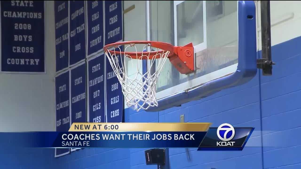 Coaches want their jobs back