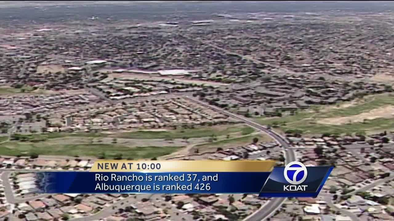 Even though Rio Rancho and Albuquerque are so close, a new study says they're miles away when it comes to quality of family life.