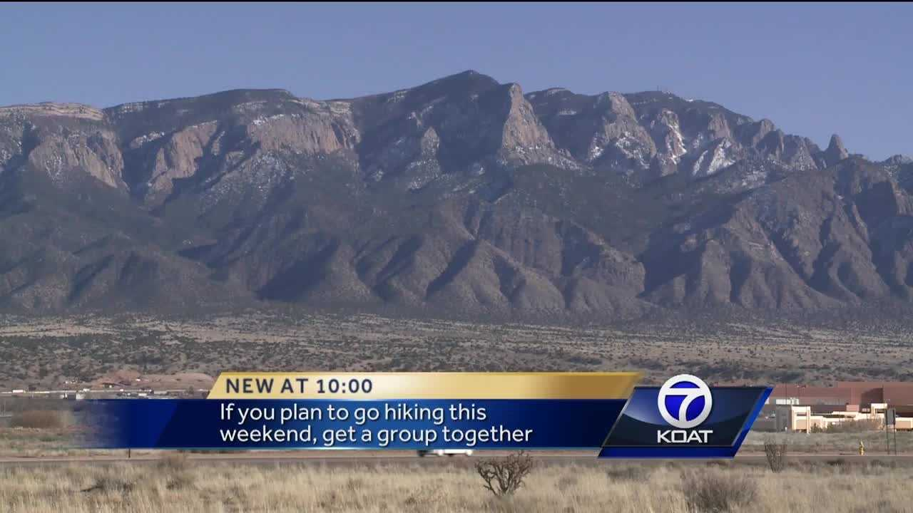 Warm weather is coming this weekend and residents may be dusting off their hiking boots.