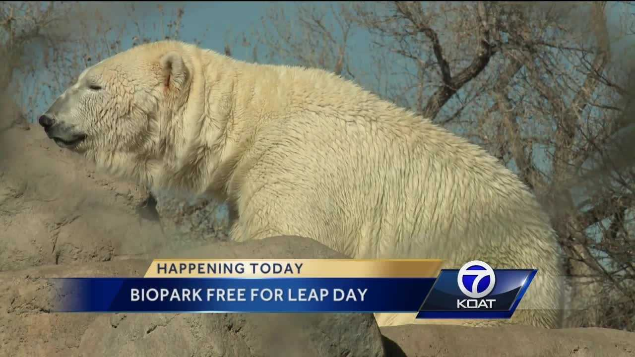 Biopark Free for Leap Day