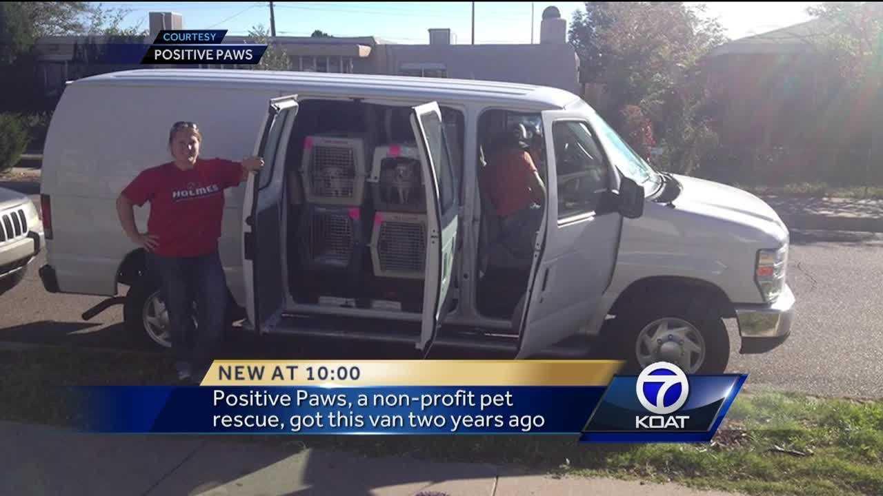 Dog Rescue Van Stolen