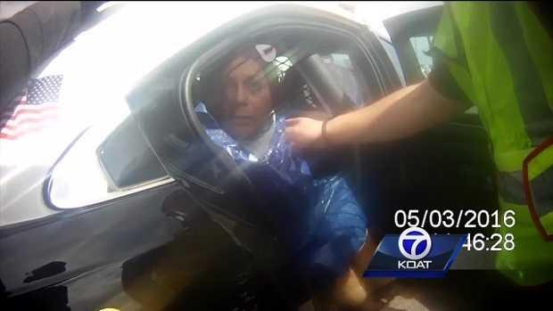 Deputies arrest naked woman