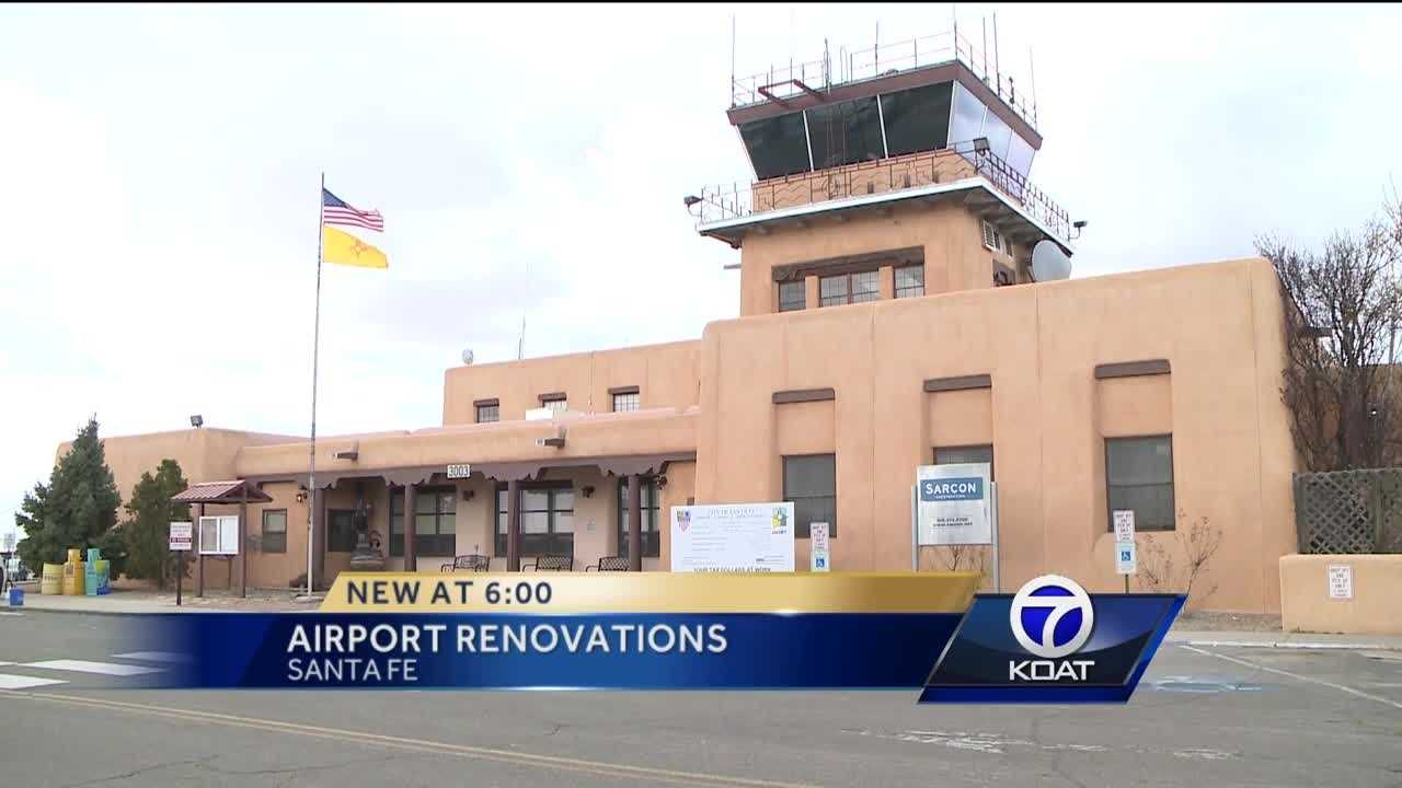 Santa Fe Airport Making Renovations