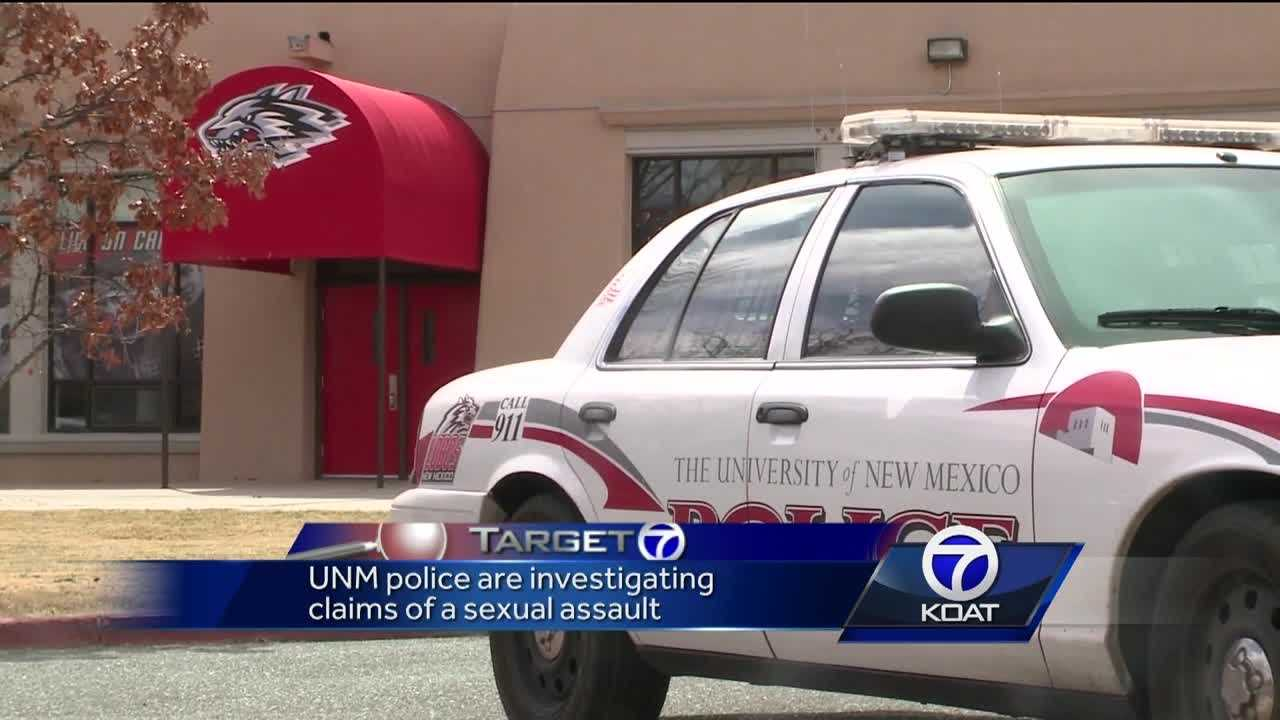 University of New Mexico police are investigating a student's report that she was sexually assaulted by one of the school's football players.