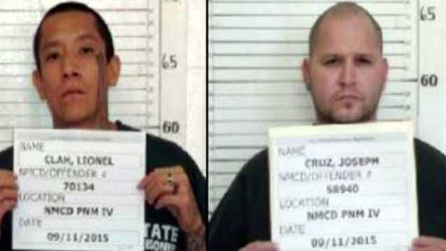 Escaped New Mexico inmates