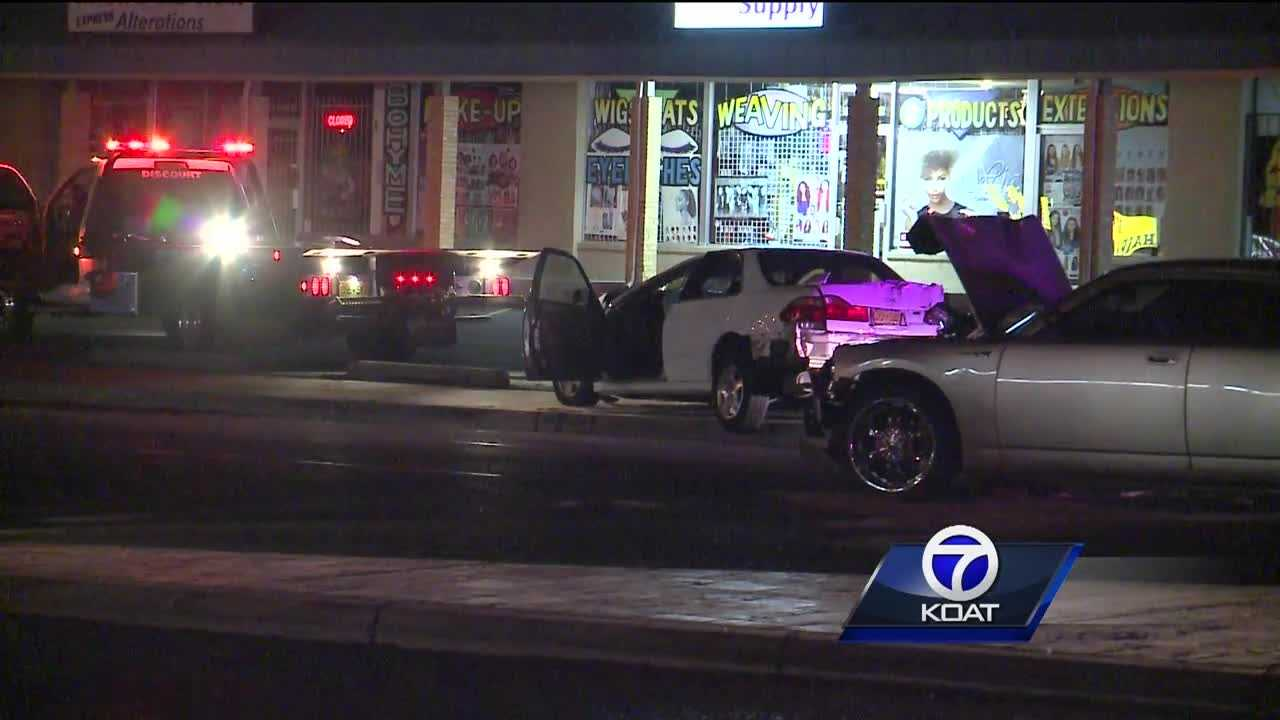 Three involved in drag racing crash