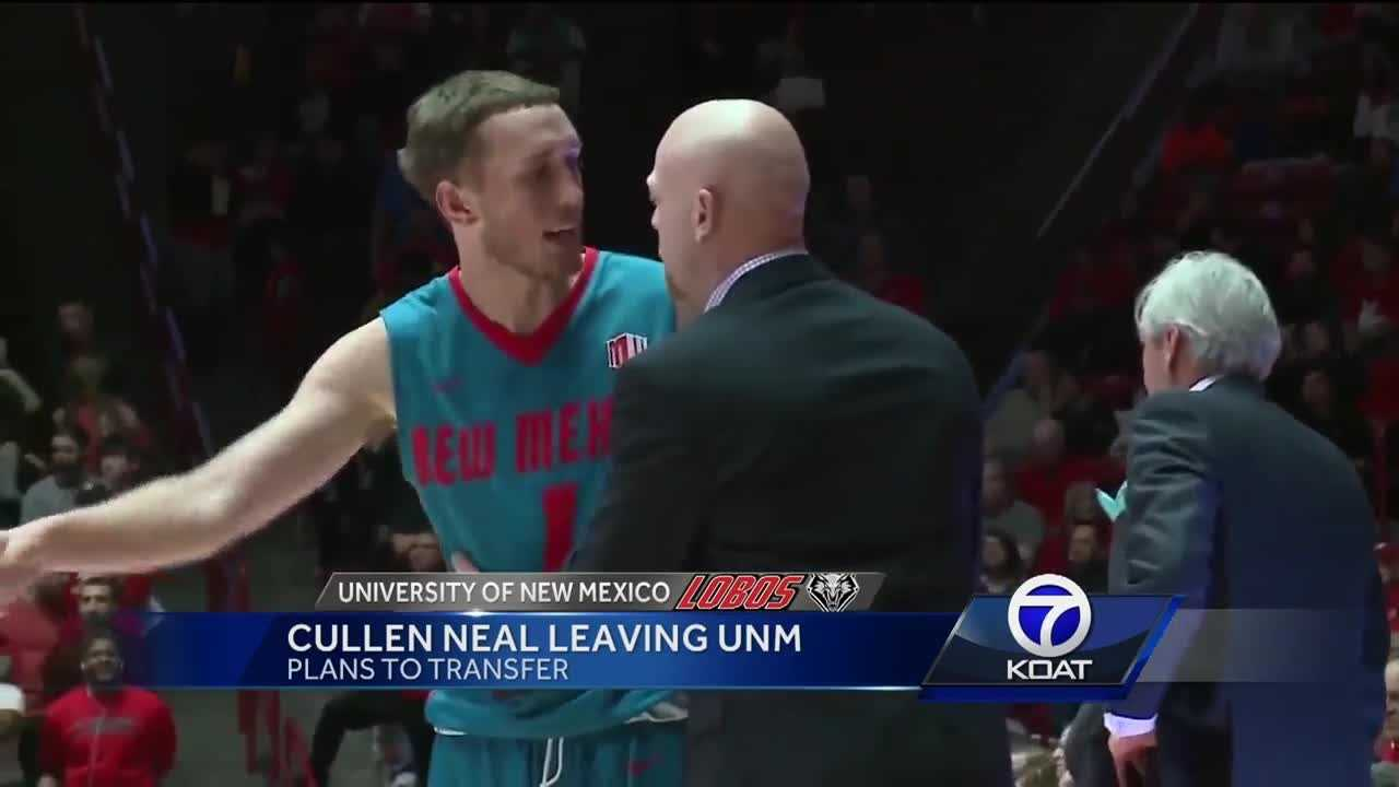 Cullen Neal Leaving UNM