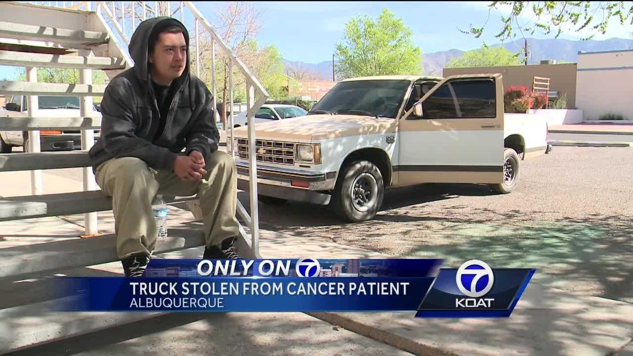 Truck Stolen from Cancer Patient
