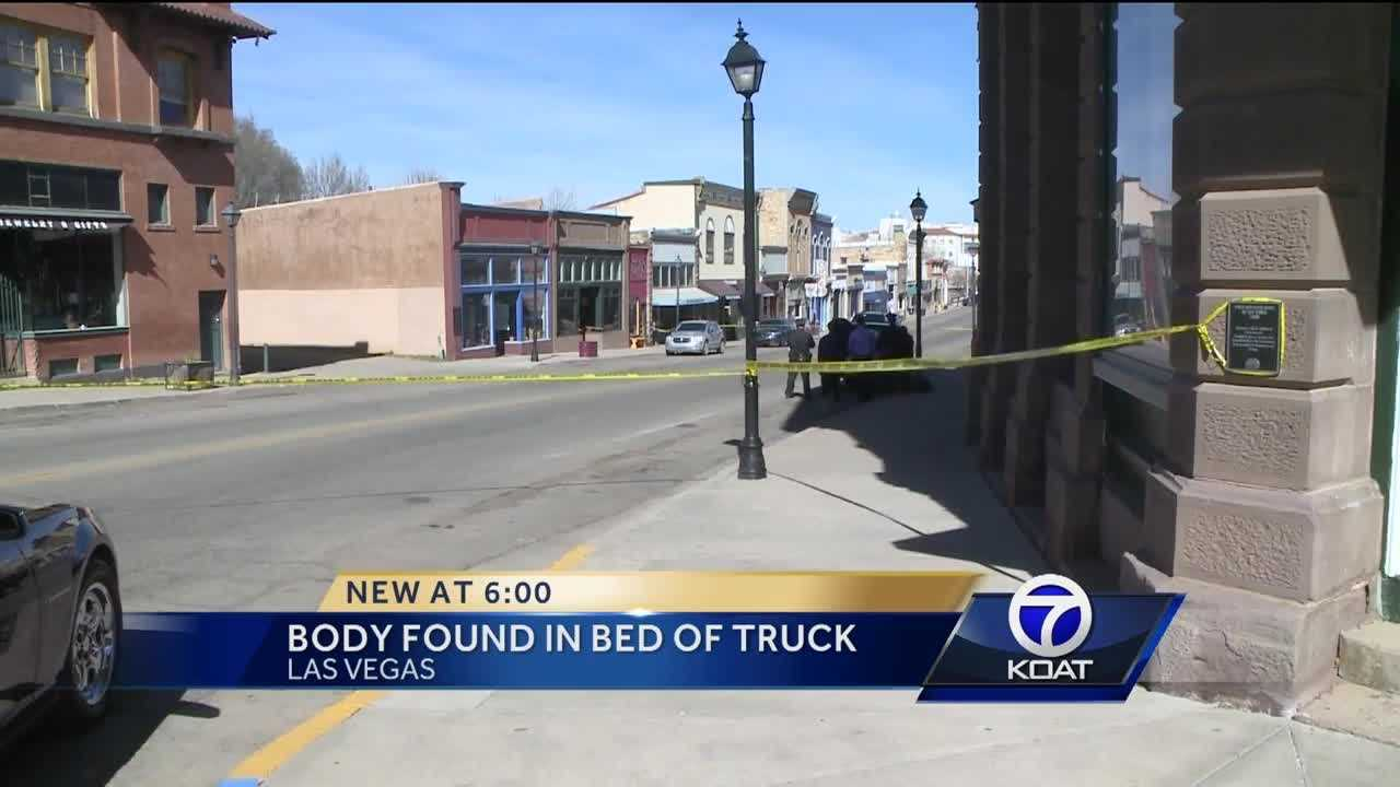 Body Found in Bed of Truck