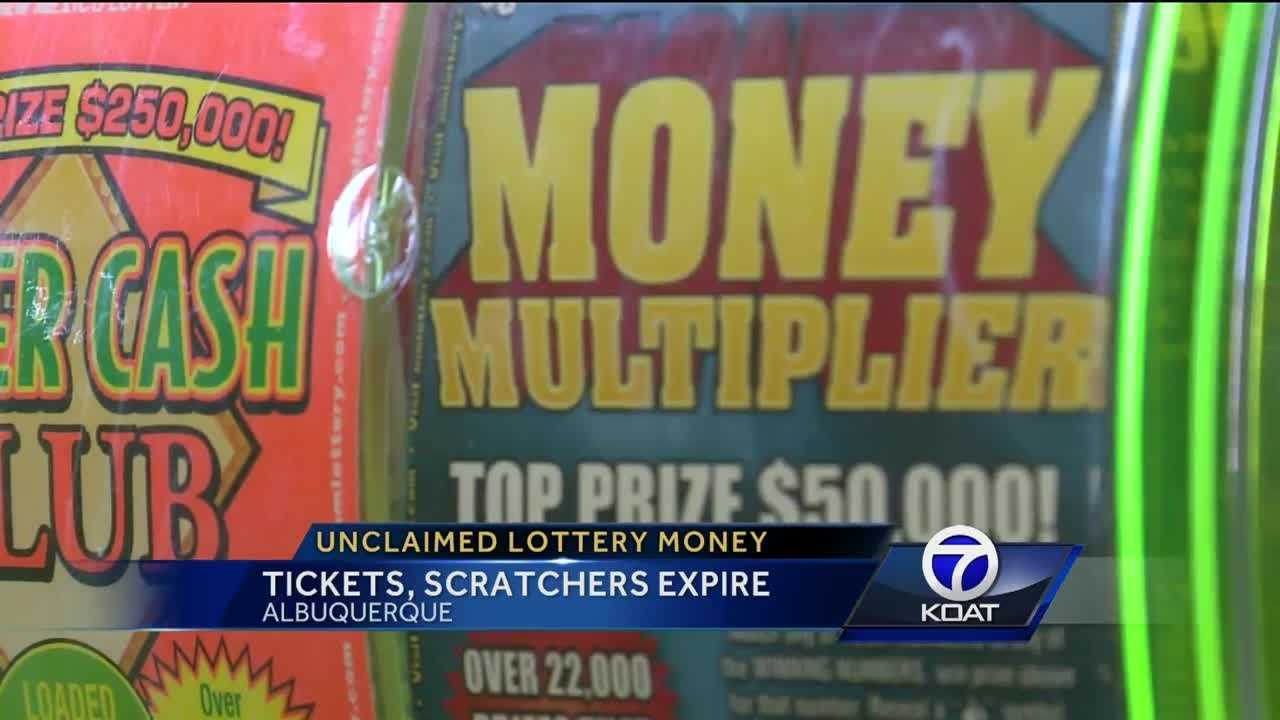 Millions of dollars in lottery prize money goes unclaimed in New Mexico.