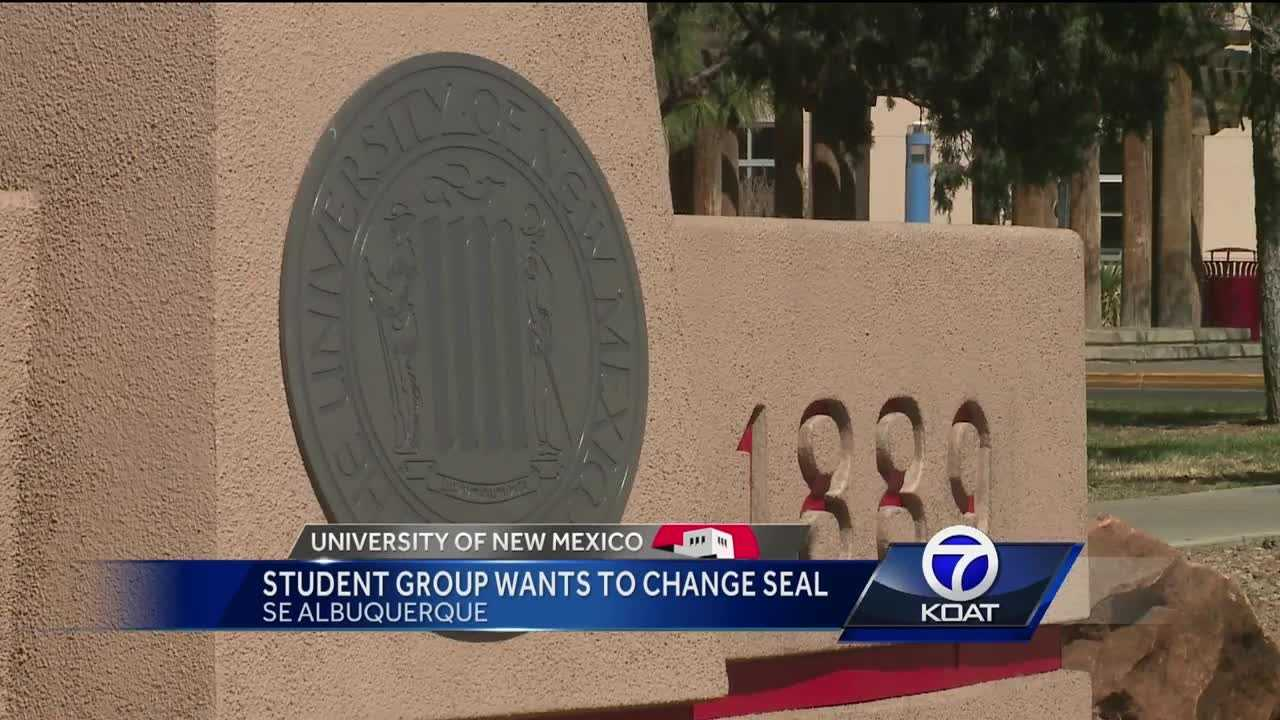 UNM student group wants to change the seal.