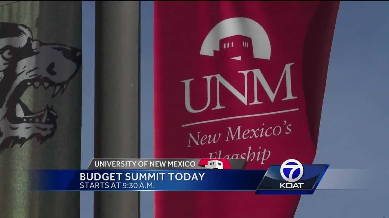 UNM Budget Summit Today
