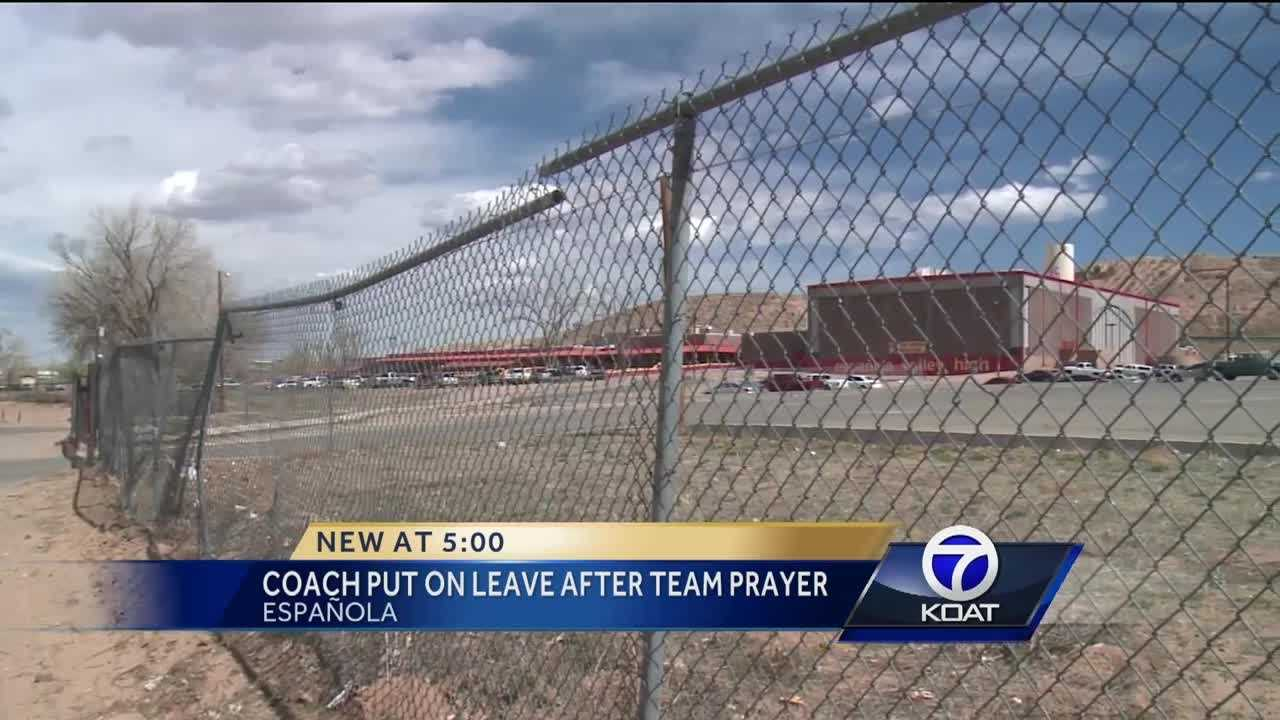 Coach Put on Leave After Team Prayer