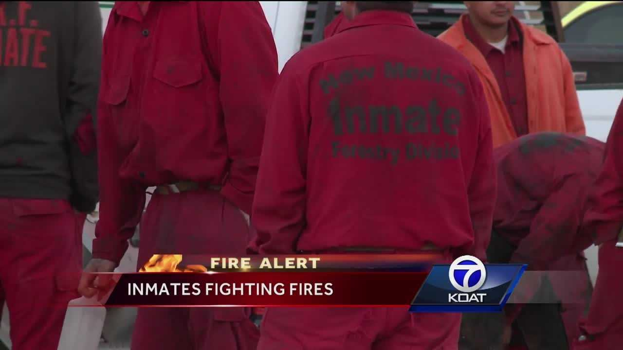 Inmates Fighting Fires