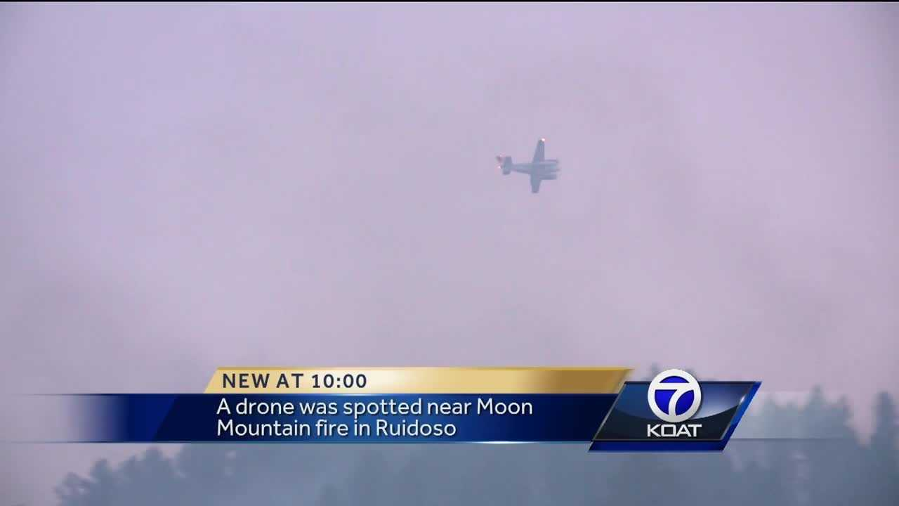 Officials urge 'no drones' during wildfires