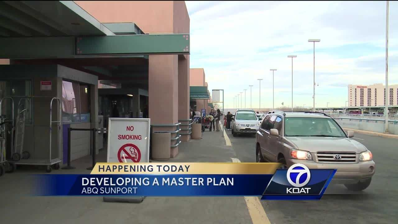 The Albuquerque International Sunport is in the stage of developing a master plan that will help guide them for the next 15 to 20 years and airport leaders want the public's input.