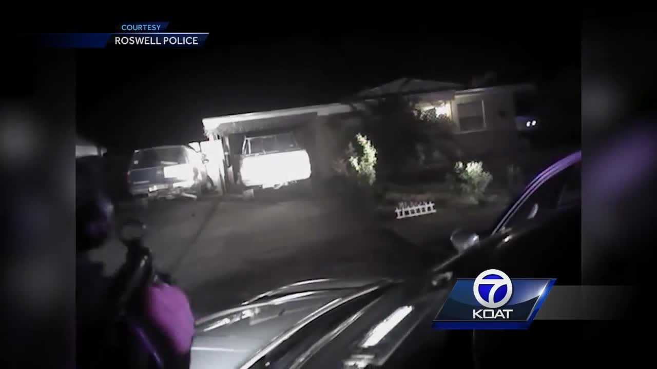 Video of a Officer Involved Shooting in Roswell, NM that ended in the suspect being shot.