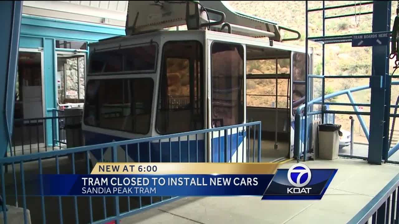 Sandia Peak Tram is closed for spring maintenance and upgrades.