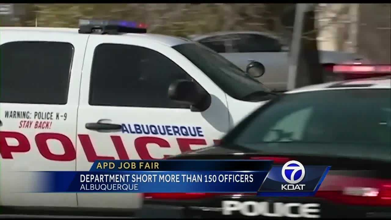 The department is short more than 150 officers.