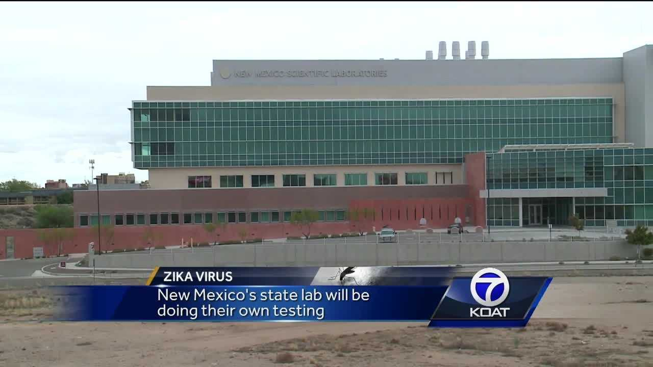 New Mexico's state lab will be able to do their own Zika testing.